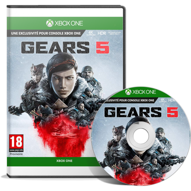 Gears 5 (Xbox One) en Tunisie