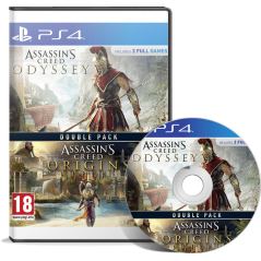 Double Pack Assassin's Creed Origins + Assassin's Creed Odyssey en Tunisie