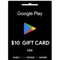 Carte cadeau Google Play $10 USA en Tunisie