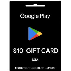 Carte cadeau Google Play $10 USA en Tunisie