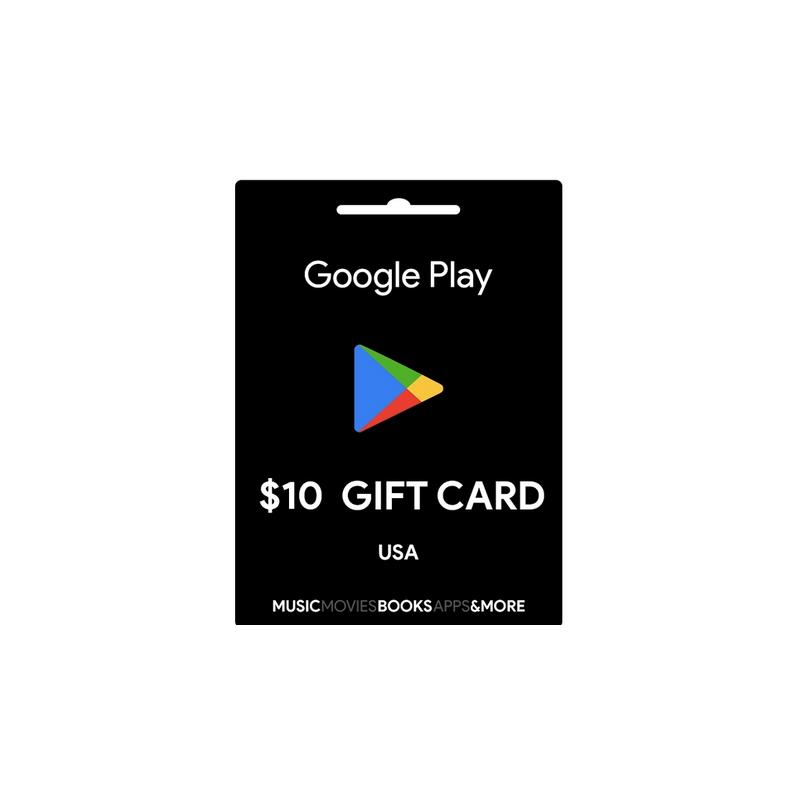 Carte cadeau Google Play $10 USA - Gift Cards - gamezone