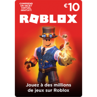 Carte Roblox 10€ en Tunisie