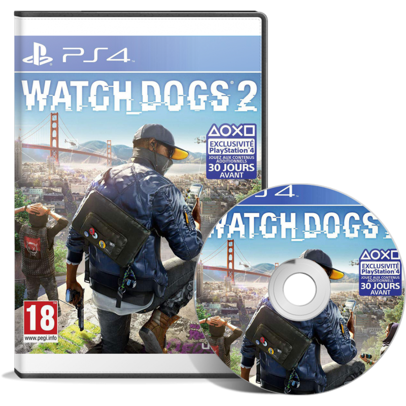Watch Dogs 2 - JEUX PS4 - gamezone