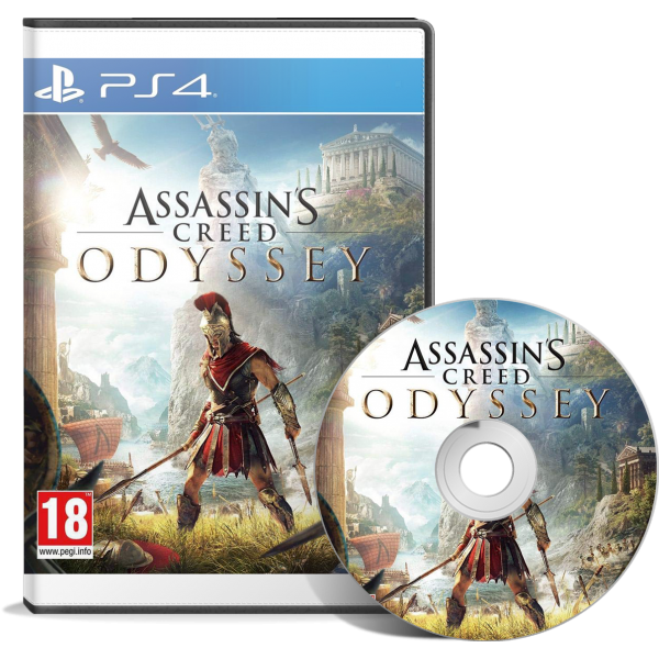 Assassin's Creed Odyssey  PlayStation 4 - JEUX PS4 - gamezone