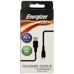Câble de charge Energizer Universal Power and Play pour PS4 et Xbox One en Tunisie
