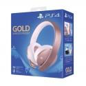 PlayStation Casque-Micro Sans Fil PS4, Audio 3D, Édition Gold, Or Rose en Tunisie
