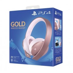 PlayStation Casque-Micro Sans Fil PS4, Audio 3D, Édition Gold, Or Rose en Tunisie