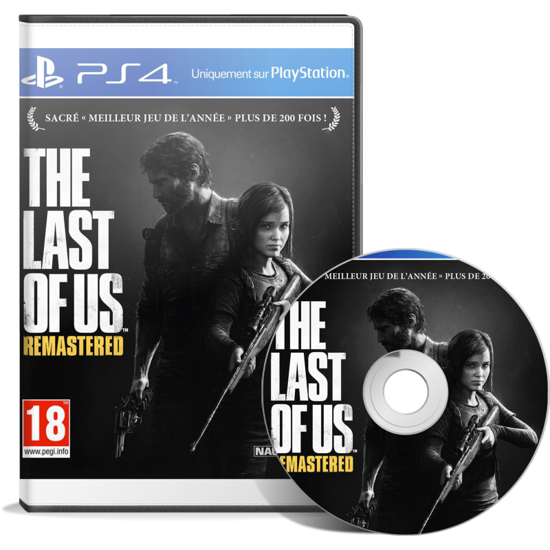 The Last of Us Remastered - JEUX PS4 - gamezone