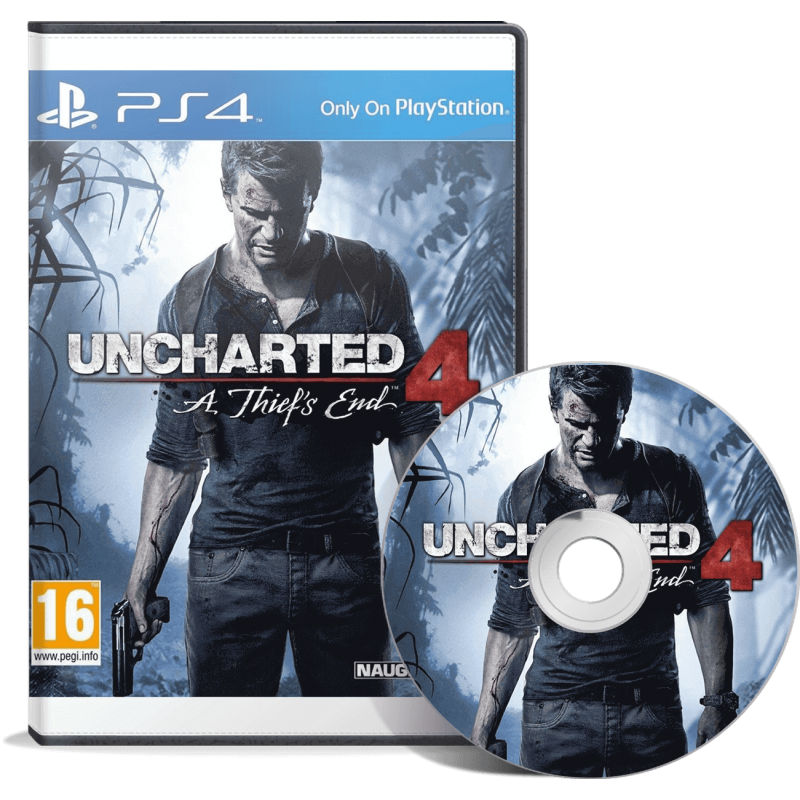 Uncharted 4 : A Thief's End - JEUX PS4 - gamezone