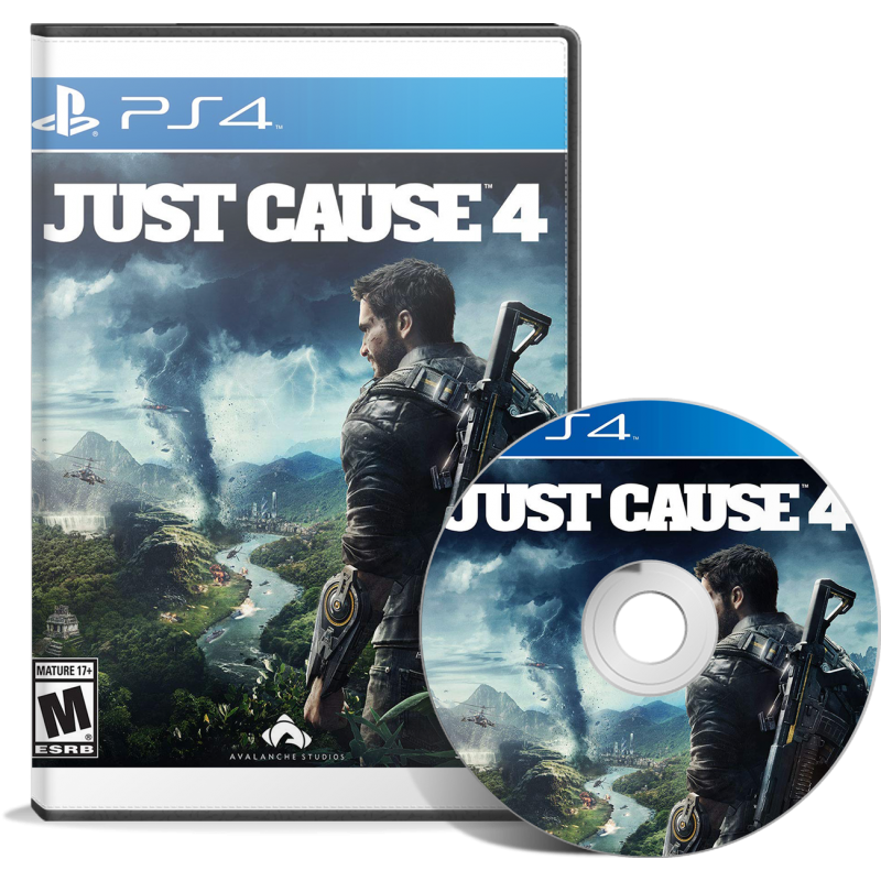 Just Cause 4 - JEUX PS4 - gamezone