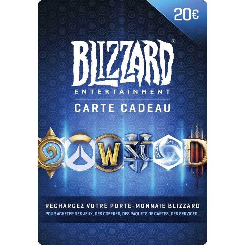 Carte Blizzard 20€ - Gift Cards - gamezone