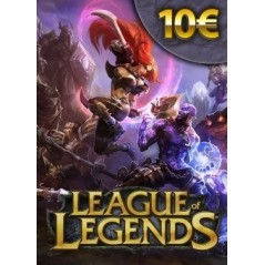 League of Legends 10€ Card (EU-WEST) en Tunisie