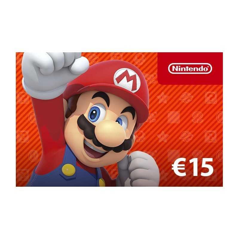 Carte Nintendo eShop 15€ en Tunisie