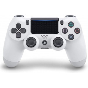 Sony Manette PlayStation 4 officielle DUALSHOCK 4 Glacier White (Blanche) en Tunisie