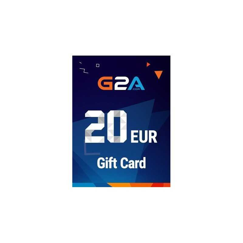 G2A Gift Card 20 EUR GLOBAL - Gift Cards - gamezone