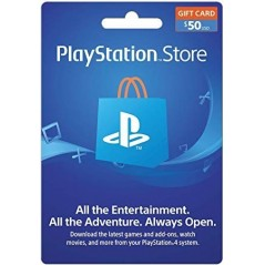 Carte Playstation Network 50$ (US) en Tunisie