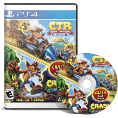 Crash Team Racing + Crash Bandicoot N.Sane Trilogy Bundle en Tunisie