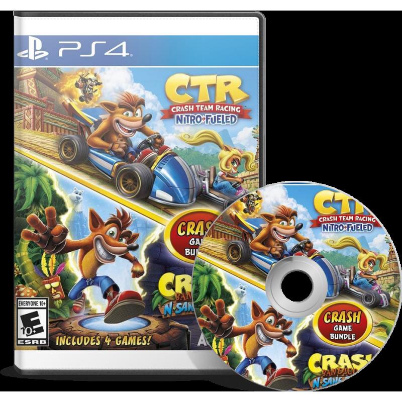 Crash Team Racing + Crash Bandicoot N.Sane Trilogy Bundle en Tunisie