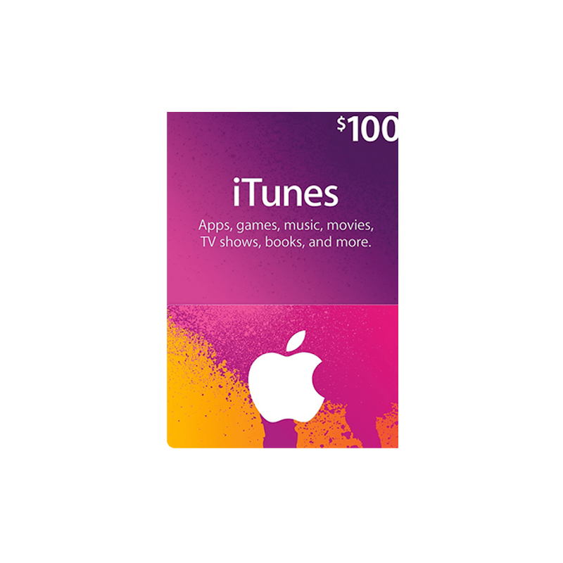 iTunes Gift Cards US 100$ Dollars - Gift Cards - gamezone