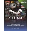 STEAM USA USD 100 Dollars Steam Key en Tunisie