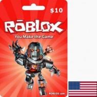 carte ROBLOX USA USD 10 Dollars en Tunisie
