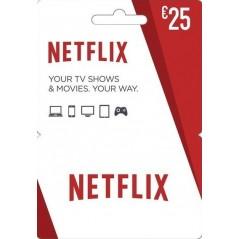 Carte cadeau Netflix 25€ en Tunisie