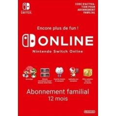 Nintendo Switch Online 12 mois Abonnement familial en Tunisie