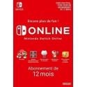 Nintendo Switch Online 12 mois en Tunisie
