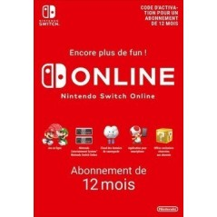 Nintendo Switch Online 12 mois en Tunisie