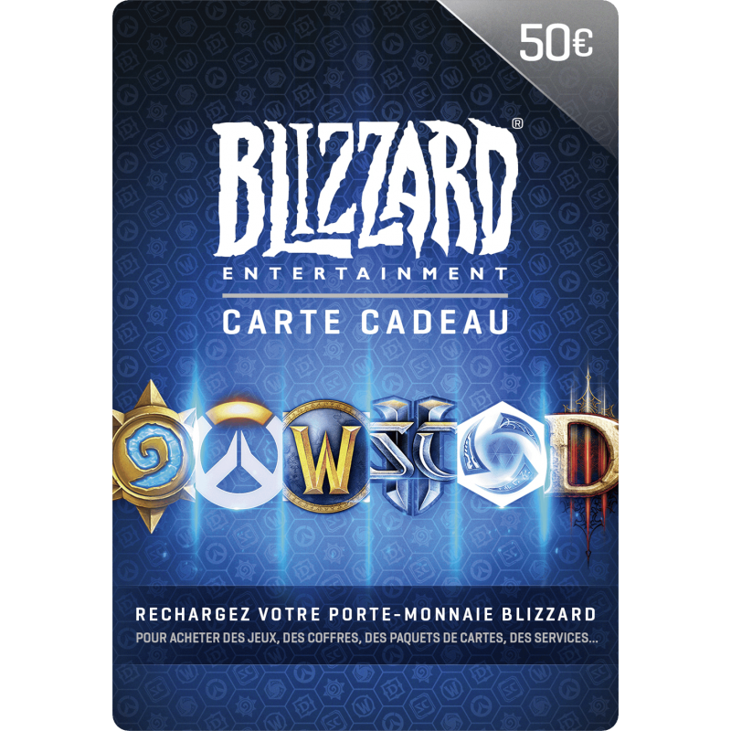 Carte Blizzard 50€ Battle.net - Gift Cards - gamezone
