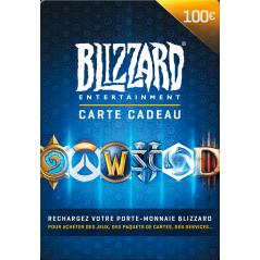 Carte Blizzard 100€ Battle.net en Tunisie