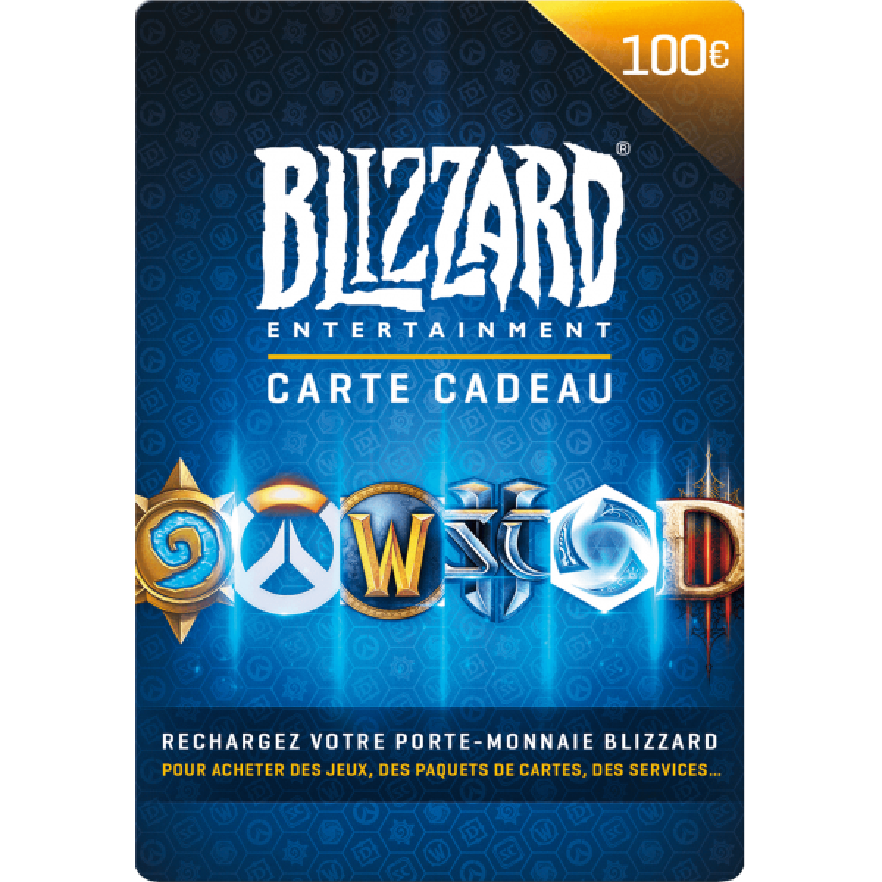 Carte Blizzard 100€ Battle.net - Gift Cards - gamezone