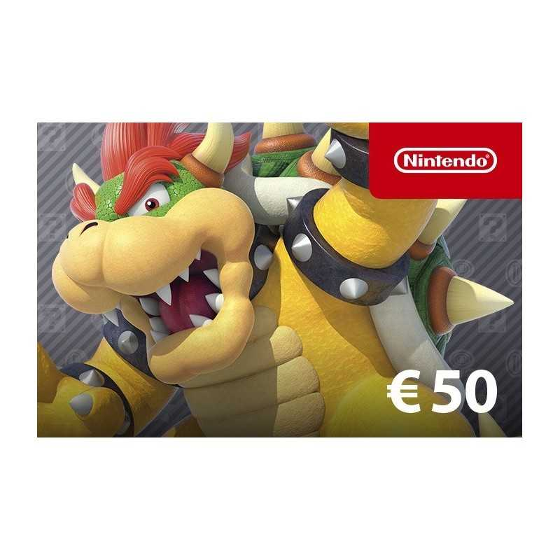 Nintendo eShop Card 50€ - Gift Cards - gamezone