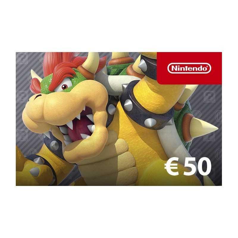 Nintendo eShop Card 50€ en Tunisie