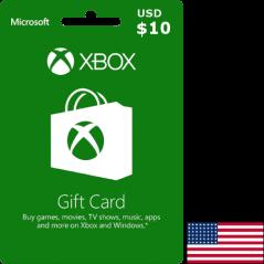 Carte Xbox USA USD 10 dollars en Tunisie