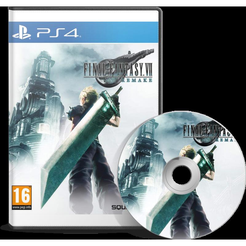 Final Fantasy VII : Remake - JEUX PS4 - gamezone