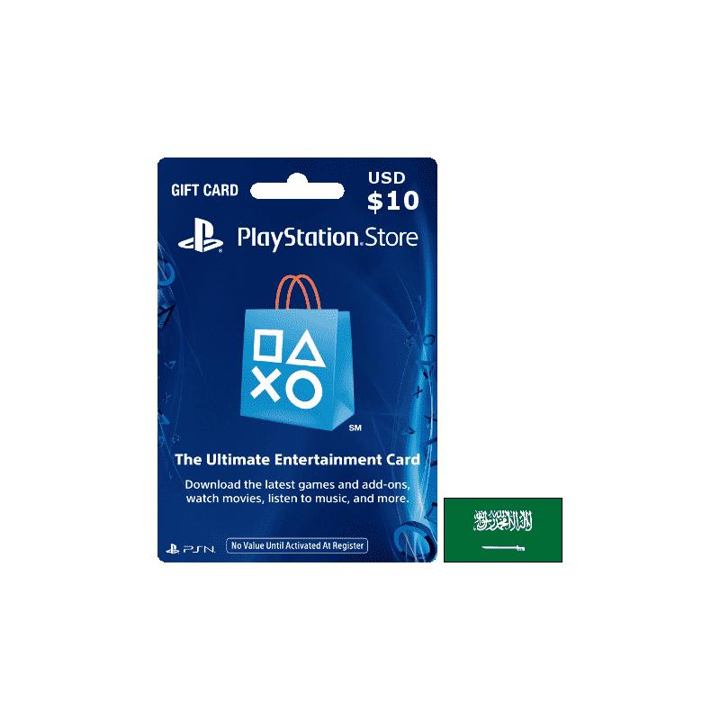 Carte PSN PlayStation Saudi Arabia USD 10 - Accueil - gamezone
