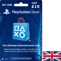 Carte PSN PlayStation United Kingdom GBP 10 en Tunisie