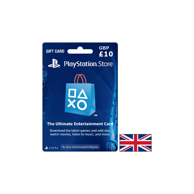 Carte PSN PlayStation United Kingdom GBP 10 - CARTES PSN - gamezone
