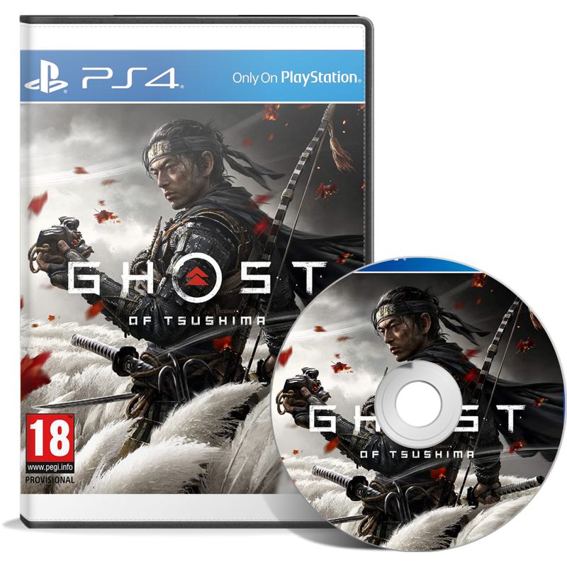Ghost of Tsushima PS4 - JEUX PS4 - gamezone