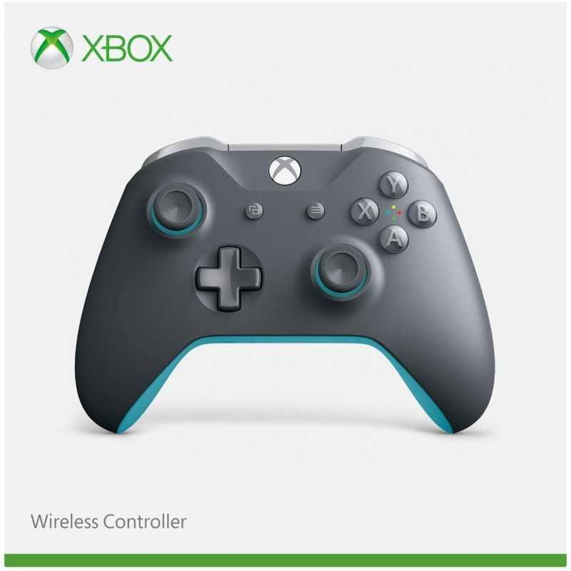 Manette sans fil pour Xbox gris/bleu - Accessoires - gamezone