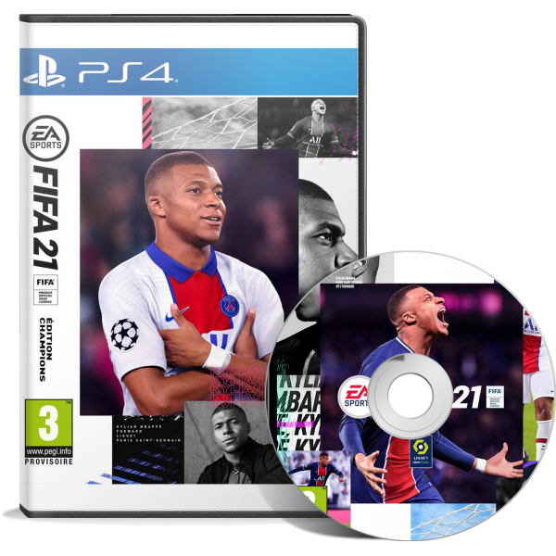 FIFA 21 - Champions Edition (PS4) Arabic - English - JEUX PS4 - gamezone