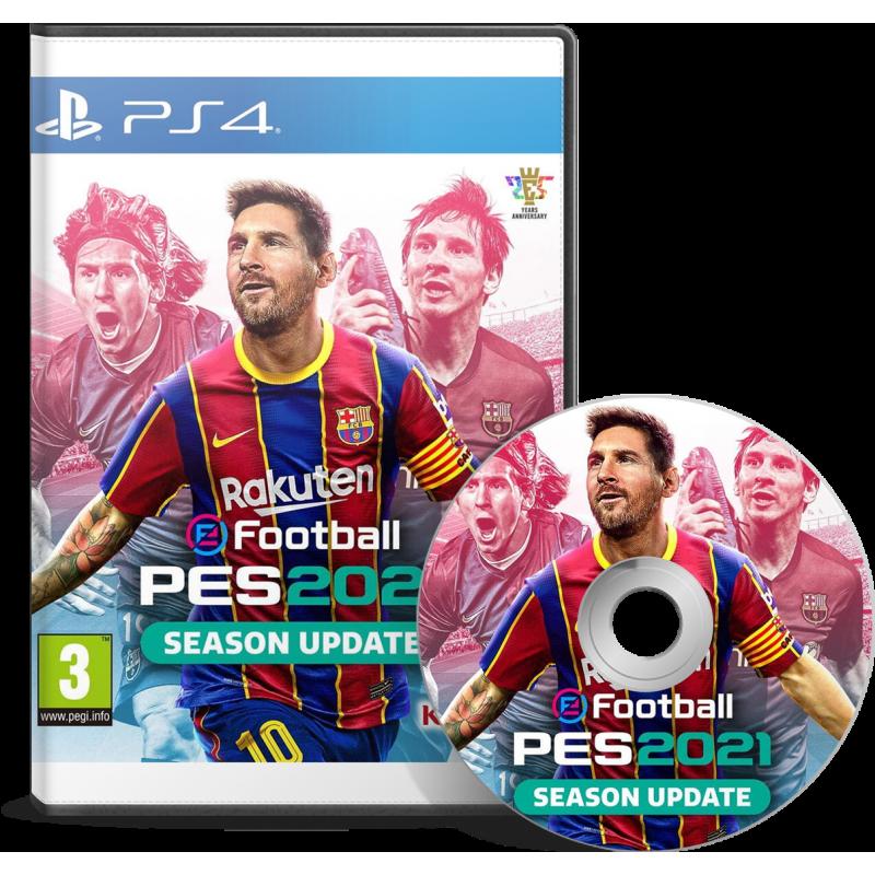 eFootball PES 2021 (PS4) Arabic - English - JEUX PS4 - gamezone