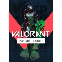 Valorant 950 Riot Points en Tunisie
