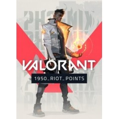 Valorant 1950 Riot Points en Tunisie