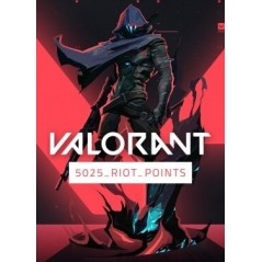 Valorant 5025 Riot Points en Tunisie