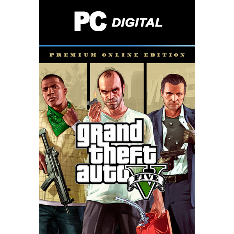 Grand Theft Auto V: Premium Online Edition PC - JEUX PC - gamezone