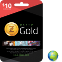 Razer Gold USD 10$ en Tunisie