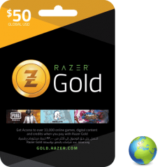 Razer Gold USD 50$ en Tunisie