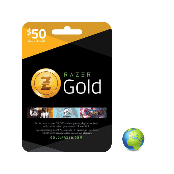 Razer Gold USD 50$ - Gift Cards - gamezone